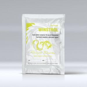 Winstrol 10 mg by Dragon Pharma