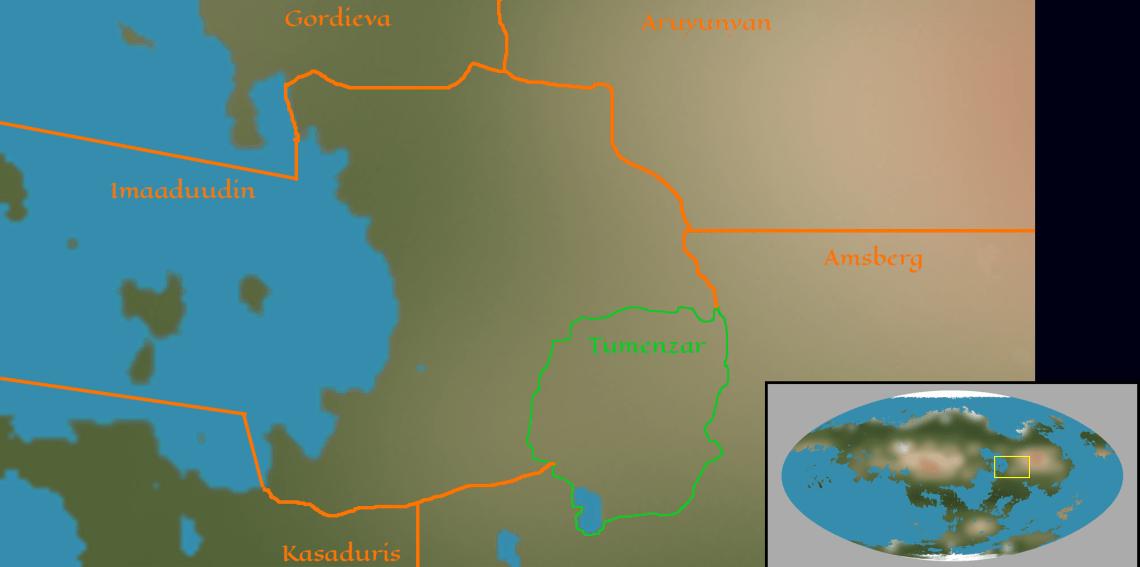 Territory of the Tumenzar