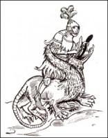 «Тристан и Изольда». Битва с драконом