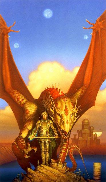 1991 Michael Whelan - DRAGON LORD