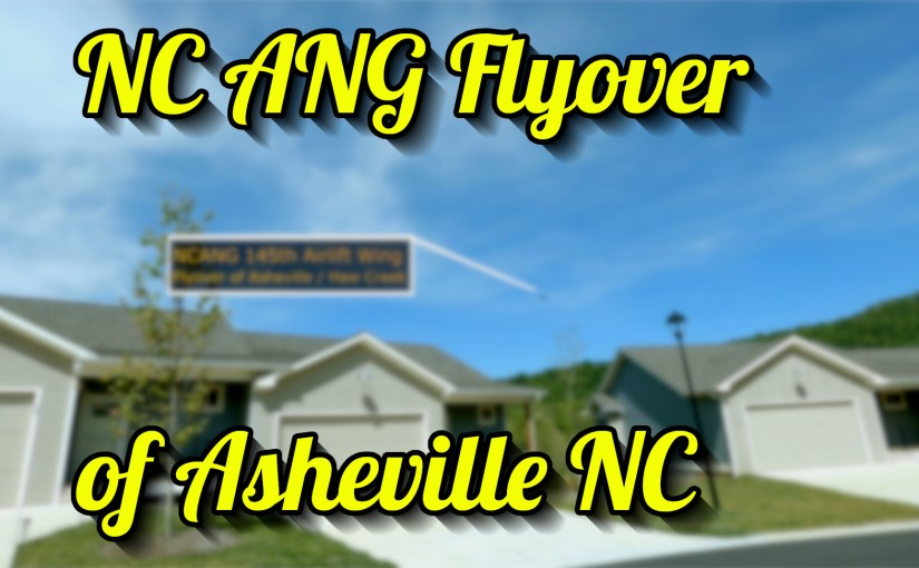 NC ANG flyover