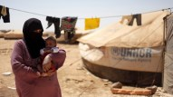 zaatari woman and baby times of israel