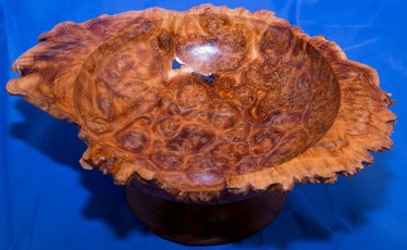 Brown Mallee Natural Edge Bowl