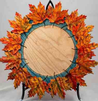 Maple Leaf Platter #281