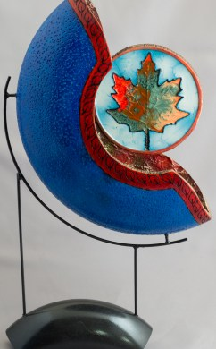 Split Turning, Blue Mapleleaf