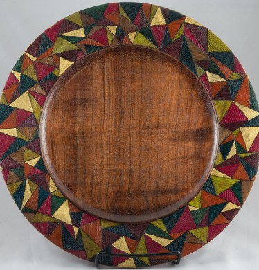 Triangles Platter