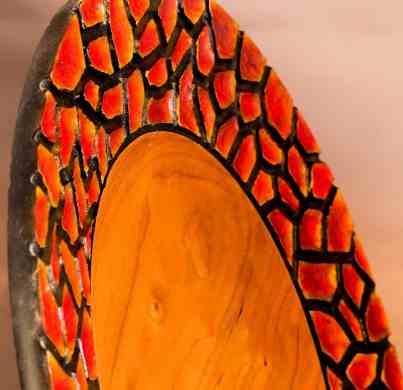Carved Platter
