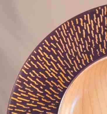 Carved Maple Platter -3