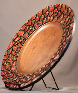 Cherry Scales Plate, Red-2
