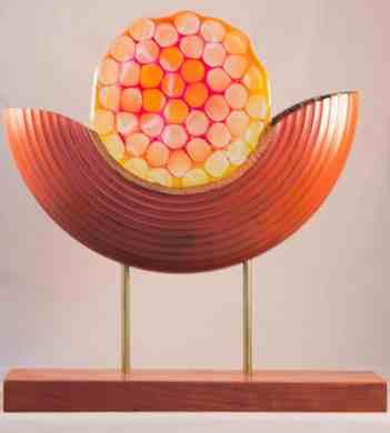 Honeycomb Split Sculpture