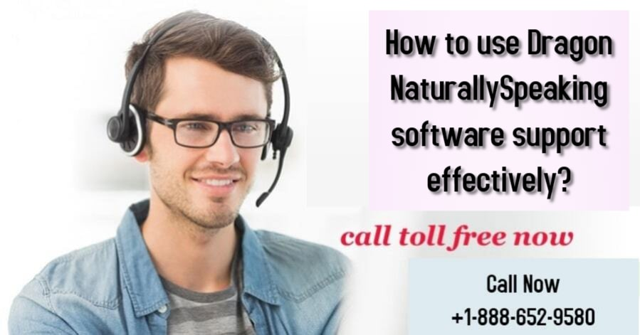 How to use Dragon NaturallySpeaking software support effectively?