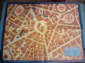 Junto a la aventura se entregaba un mapa enorme de Tatooine y su famosa cantina.