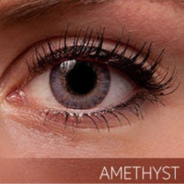 Amethyst Contacts Dark Brown Eyes