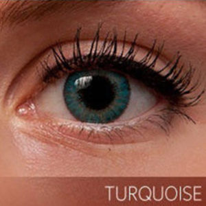Freshlook Turquoise Contact Lenses - 5pair