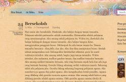 Blognya Mira, anak kedua