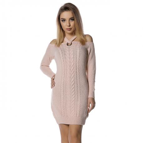 rochie-tricot-sara-roz-pal