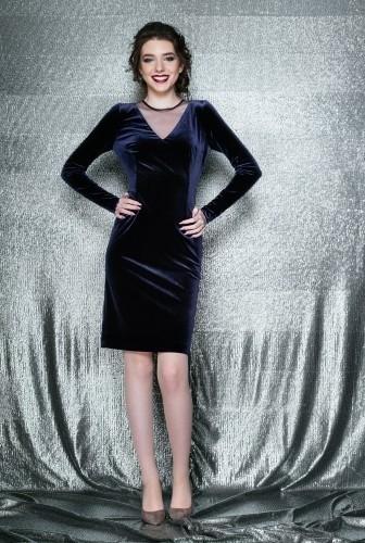 rochie-eleganta-conica-cu-maneca-lunga-din-catifea-elastica-eva-b-bleumarin-3-l