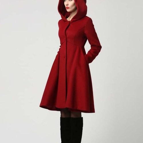 palton dama cu gluga