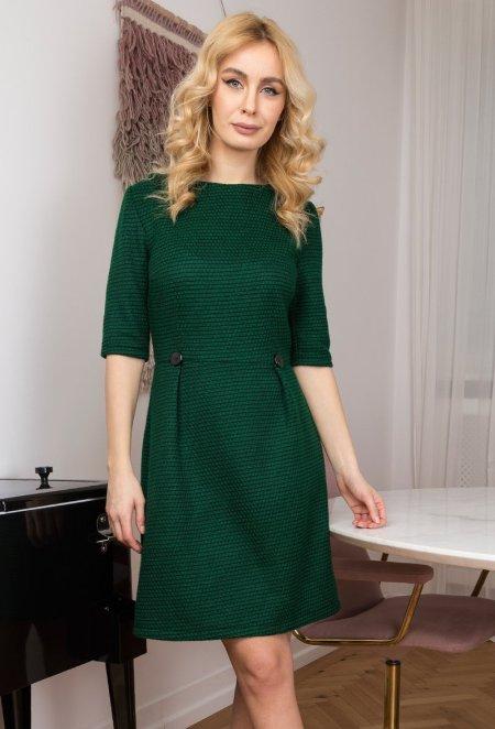 rochie-verde-cu-imprimeu-abstract-zaviera