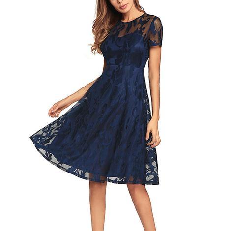 rochie de primavara din dantela