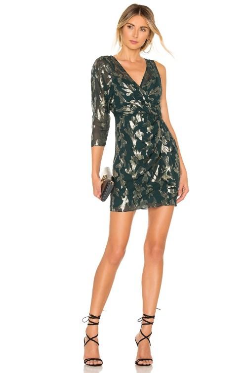 rochie scurta asimetrica