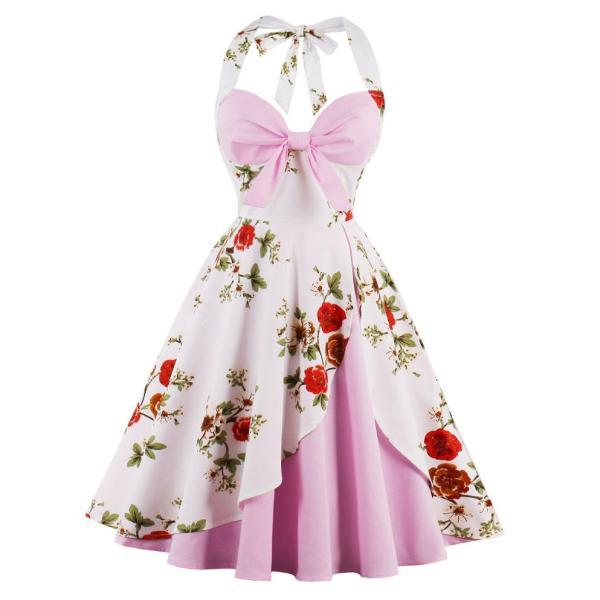 rochie dama roz prafuit