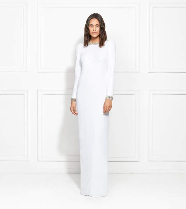 Rachel Zoe EXCLUSIVE Grace Embellished Fluid Sequin Gown
