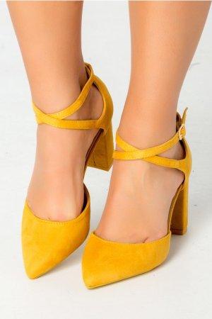 Pantofi galben mustar Ezzi