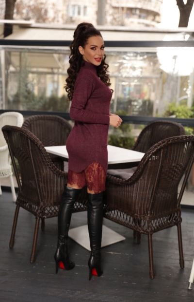 rochie-tricot-bordo-cu-dantela-rd-04-30