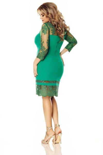 rochie-verde-plus-size-gratiela