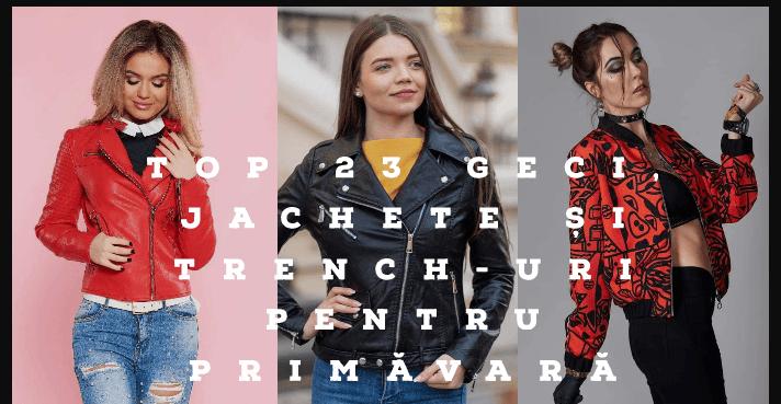 Top 23 geci, jachete si trench-uri pentru primavara