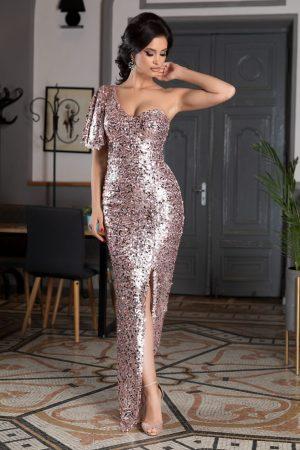 Rochie de seara eleganta cu paiete