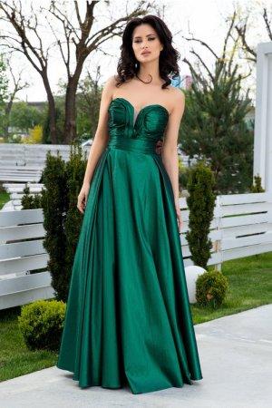 Rochie eleganta verde de seara