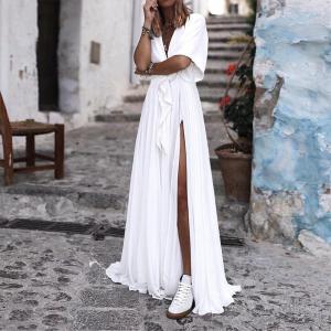 Rochie lunga de zi