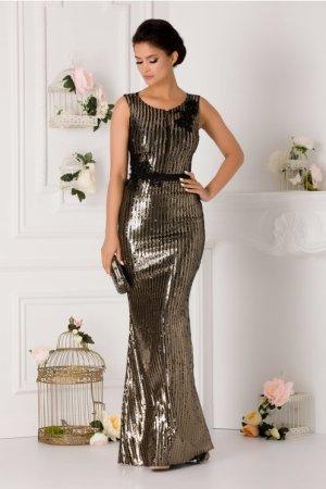 Rochie lunga eleganta de seara tip sirena