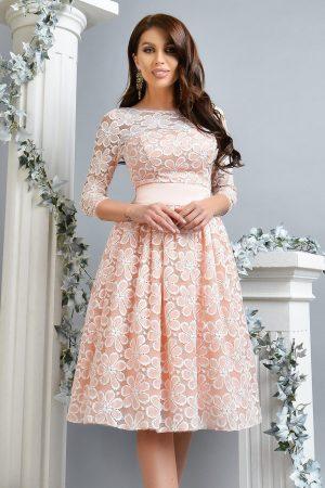 Rochie midi eleganta din dantela