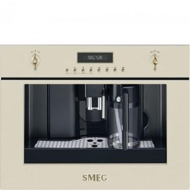 Espressor incorporabil automat CMS8451P, Crem, 60x45 cm, Coloniale, SMEG