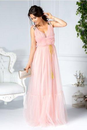 Rochie de seara lunga eleganta din tulle