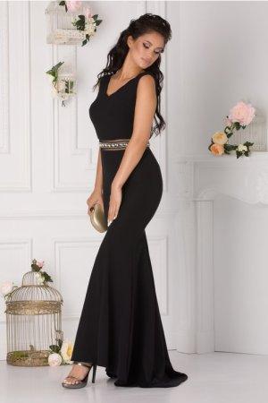 Rochie de seara tip sirena lunga eleganta