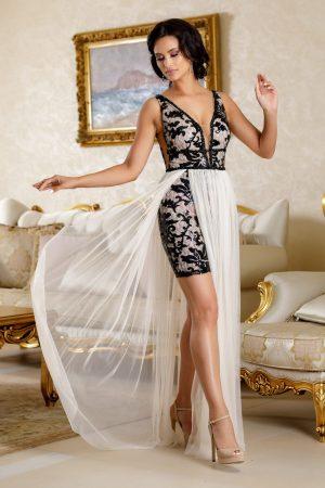 Rochie eleganta de seara din paiete