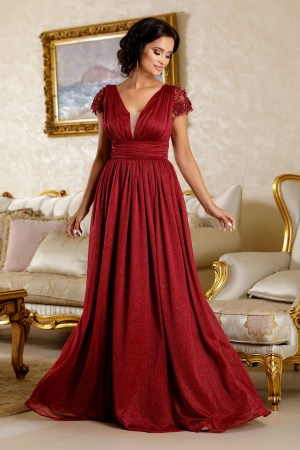 Rochie lunga eleganta de seara