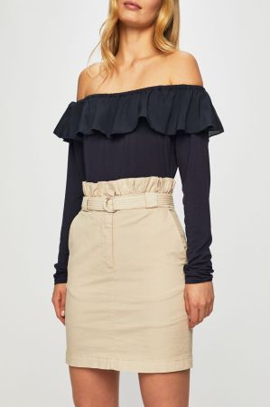 These types of skirts have only recently become the new trend but they seem to be a mix between girly, professional, and edgy so if you want a skirt that has all three qualities then go out and get yourself one.