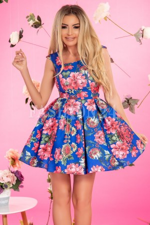 rochie-florala-in-nuante-de-albastru