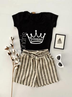 Compleu dama pantaloni dama + tricou dama