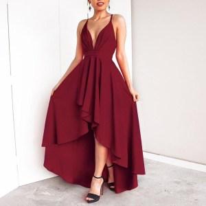 Rochie de seara eleganta asimentrica