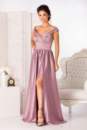 Rochie de seara eleganta din satin