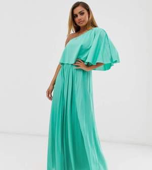 Rochie de seara lunga eleganta turcoaz Asos