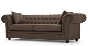 Canapea fixa tapitata cu stofa 3 locuri