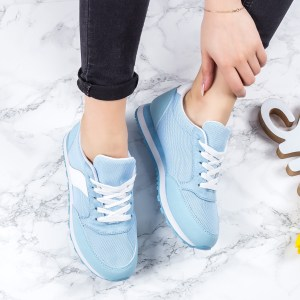 Pantofi dama sport albastri