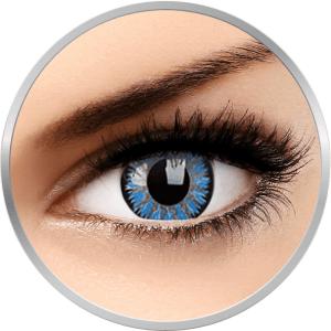 ZenVu Desire Aqua - lentile de contact colorate albastre trimestriale - 90 purtari